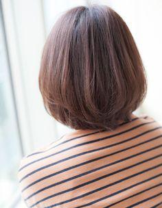 お洒落な雰囲気あるアンニュイ大人ボブ(YK−100)   ヘアカタログ・髪型・ヘアスタイル AFLOAT(アフロート)表参道・銀座・名古屋の美容室・美容院