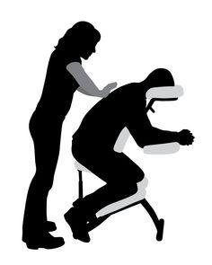 Une chaise de massage sera sur place pour donner aux convives qui le désirent un exemple de massage que vous offrez.