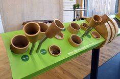 Interaktives Exponat / Hands-On Duftkelche und mehr, im Steigerwald-Zentrum…