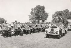 The AA in the sun during the fifties; Series Ones and BSAs
