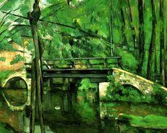 Le Pont de Maincy Cezanne