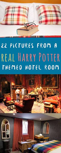 This Harry Potter themed hotel room is something you have to see to believe