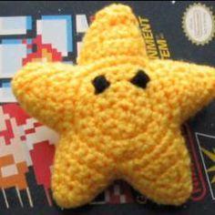 Invisibility Star amigurumi crochet pattern