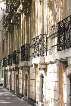 Edificio con Balcones en la colonia Roma en la Ciudad de México