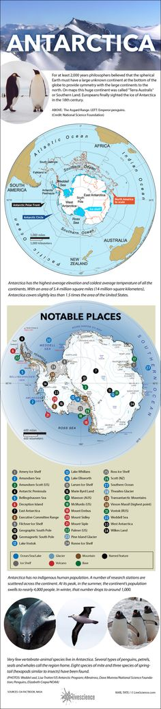 Guide to Antarctica (Infographic) By Karl Tate, Infographics Artist   |   August 22, 2014