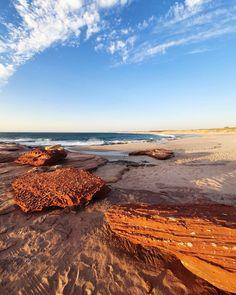 Bluff Beach, Kalbarri, Australia Caravan, Exploring, Travel Photography, Australia, Celestial, Sunset, Beach, Water, Outdoor