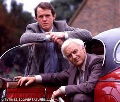 Inspector Morse and Sargent Lewis who is now Inspector Lewis in a new series