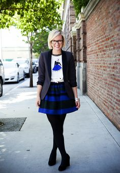 Jen Pinkston's Go-to Outfit | Camille Styles, photo by Denise Crew
