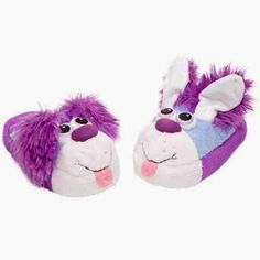 Size Extra Small Latest Design Stompeez Purple Bunny Slippers For All Kids