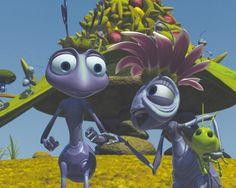 Princess Atta and The Queen -- A Bug's Life (my favorite Pixar film! Disney Pixar Movies, Pixar Characters, Cartoon Movies, Disney Love, Walt Disney, Disney Parks, Toy Story, Queen Ant, A Bug's Life