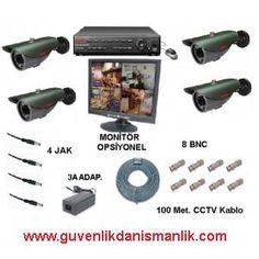 CCTV Kamera Sistemleri görselliğinin olması dolayısı ile günümüzde çok kullanılmaktadır. Neredeyse bütün işyerlerinde cctv güvenlik kameralarını görmeniz mümkündür.İstenen mahalin iç ve çevre güvenliği 7 gün 24 saat güvenlik kamera sistemi ile rahatlıkla izlenip kontrol edilebilir.CCTV Güvenlik kamera sistemleri ile istenen bölgeler izlenebilir ve kayıt altına alınabilir kaydedilen görüntüler geriye dönük olarak izlenebilir. http://blog.guvenlikkamerasistemleri.org