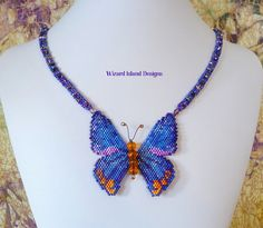 Creon Skipper Butterfly necklace by WizardIslandDesigns on Etsy