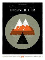 Massive Attack Poster - The Sound Academy, Toronto - Doublenaut