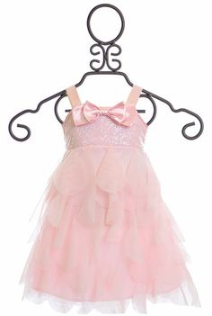 Stunning girls holiday dresses by Biscotti - Little girls clothing with Tulle Skirting - Baby Biscotti girls gowns and trendy dress for special occasions Girls Holiday Dresses, Gowns For Girls, Trendy Dresses, Special Occasion Dresses, Nice Dresses, Sequin Dress, Pink Dress, Flower Girl Dresses, Stunning Girls