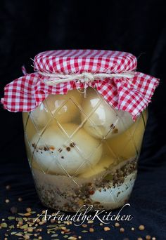 Pickled Eggs | They're inexpensive to make and preserve tons of protein for a long time. #SurvivalLife www.SurvivalLife.com