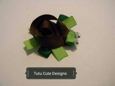 Turtle hairclip