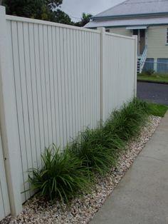white fences colourbond - Bing Images