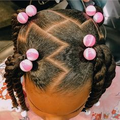 Toddler Braided Hairstyles, Cute Little Girl Hairstyles, Baby Girl Hairstyles, Natural Hairstyles For Kids, Natural Hair Styles, Kids Curly Hairstyles, School Hairstyles, Braids For Kids, Girls Braids