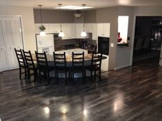 One of the Mannington reps in Utah loved selling the Chateau laminate so much, he decided to put some in his own home! Best Flooring, Vinyl Plank Flooring, Laminate Flooring, Kitchen Flooring, Click Flooring, Flooring Ideas, Mobile Living, Home Estimate