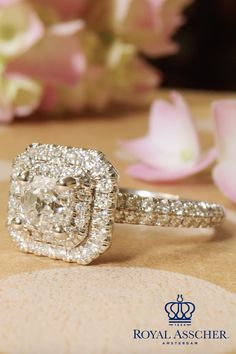 You deserve to be treated like a princess every day.  Discover your favorite Royal Asscher patented cut diamond and  let your prince know you're ready for the next chapter.