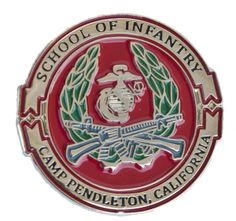 camp pendleton infantry school - Google Search Usmc, Marines, Marine Corps Bases, Second Lieutenant, Camp Pendleton, Division, Patches, Military, Camping