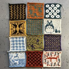 489 Likes, 17 Comments - lotje meijknecht Project S, Quilt Labels, Fair Isle Knitting, Quilts, Blanket, Color, Instagram, Quilt Sets, Colour