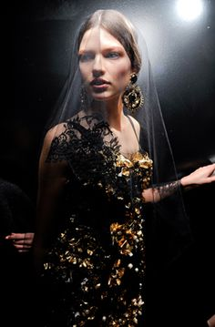 Backstage Pass // Dolce & Gabbana Fall 2012