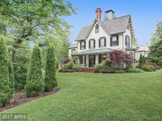 """For sale: $649,000. The John L Stam House, circa 1860, is a beautifully restored Gothic Revival Victorian. Currently run as a B&B there are 4 guest rooms with full baths and an additional 2 BR in the owners quarters. The first floor features original faux painted fireplaces, hand painted plastered ceilings, and """"Jenny Doors"""" leading to a gracious veranda.  A recently added water feature enhances the beautiful gardens"""