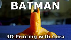 Want to know how to print with Cura? Here it is :) Batman Bust from Thingiverse download: http://www.thingiverse.com/thing:307775
