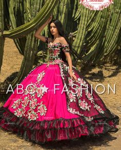 Off Shoulder Floral Charro Quince Dress by Ragazza Fashion – ABC Fashion Burgundy Quinceanera Dresses, Mexican Quinceanera Dresses, Mexican Dresses, Quinceanera Party, Quince Dresses, 15 Dresses, Girls Dresses, Charro Dresses, Party Crop Tops