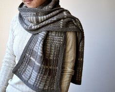 Test (Japanese version) for atelier knits. I LOVE this!!! Finished size: 208 cm x 30 cm