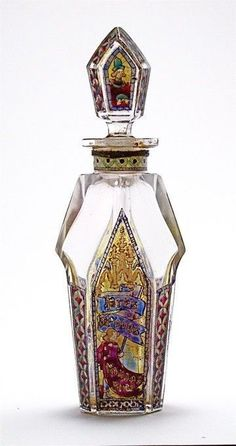 Bon chic Bon genre — 1920s Rigaud Pres de Vous perfume bottle and...