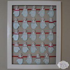 An Advent Calendar the whole family can help make.