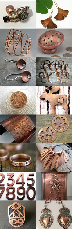 Yummy Copper Treasury by Ann on Etsy--Pinned with TreasuryPin.com
