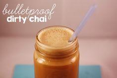 Bulletproof Dirty Chai | Adventures in Pinterest - www.chaosandlove.com    #coffee #paleo