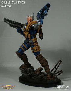Sideshow Collectibles - Cable Classic Polystone Statue