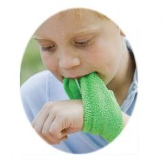 Say Goodbye to Soggy Sleeves These Chewy Wristbands are your solution to drool-soaked clothing. Kids love to wear the soft terrycloth wristbands, which are made from super absorbent organic cotton. Th