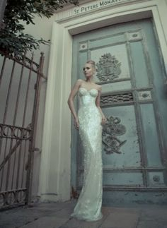 Sexy flattering sequins Yaki Ravid dress