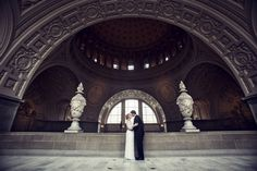 http://www.catherinehallstudios.com/ Wedding portrait at San Francisco City Hall