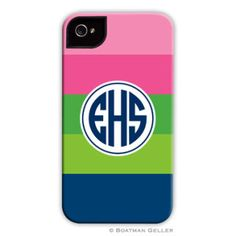 LOVE this preppy case for iPhone & iPad!!
