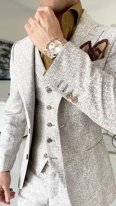 Smart Casual Outfit, Business Casual Outfits, Sharp Dressed Man, Well Dressed Men, Dress Suits For Men, Men Dress, Mens Fashion Suits, Men's Fashion, Fashion Dresses