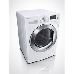LG 2.3-cu ft Ventless Combination Washer and Dryer (White) (cool idea for an upstairs laundry area or guest house)