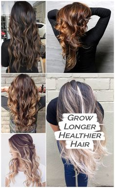 Simple method to naturally grow beautiful long hair.