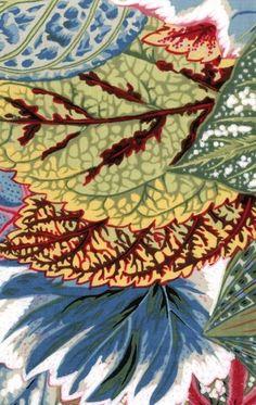 philip jacobs coleus fabric - green Google Search