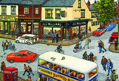 After The Game Puzzle #jigsaw #puzzle #christmas #xmas #gifts #children #grandparents #hobby #fun #family #gibsons #game