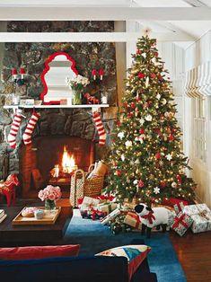 christmas living room decorations tis the season pinterest