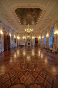 White Hall of Gatchina Palace, Russia