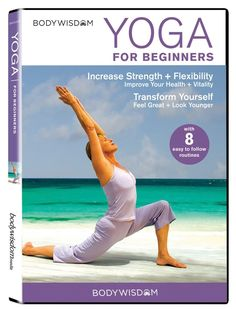 Yoga for Beginners DVD: 8 Yoga Video Routines for Beginners. Includes Gentle Yoga Workouts to Increase Strength & Flexibility: Barbara Benagh: Movies & TV Sanftes Yoga, Sup Yoga, Yoga Beginners, Beginner Yoga, Best Yoga Dvd, 30 Tage Yoga Challenge, Pilates Challenge, Yoga Fitness, Fitness Pants