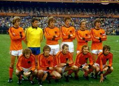 Holland team group at the 1978 World Cup Final.
