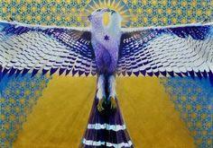 "Saatchi Art Artist Dado Motta; Painting, ""Bird #6 - Phoenix"" #art"